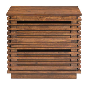 Thumbnail of Zuo Modern Contemporary - Linea End Table Walnut