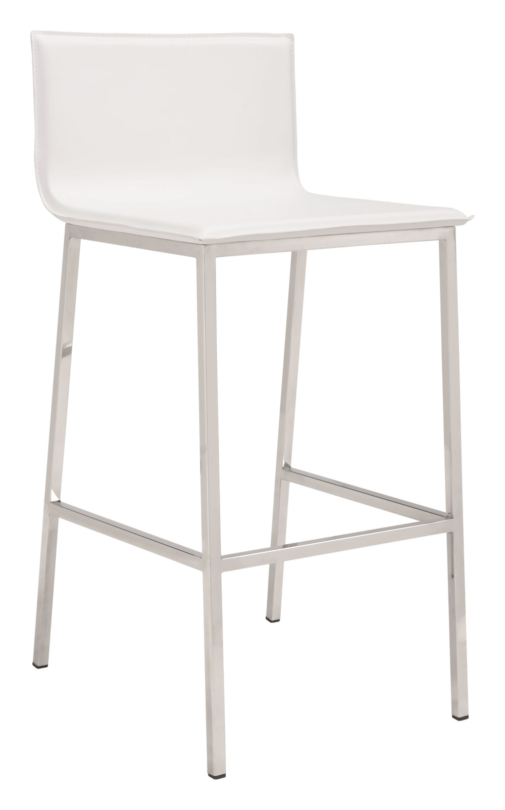 Zuo Modern Contemporary - Marina Barstool - Set of 2 - White