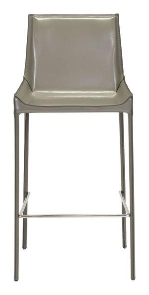 Thumbnail of Zuo Modern Contemporary - Fashion Bar Chair, Set/2, Gray
