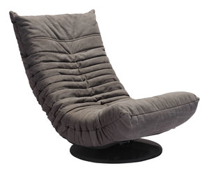Thumbnail of Zuo Modern Contemporary - Down Low Swivel Chair Gray