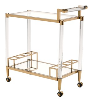 Thumbnail of Zuo Modern Contemporary - Existential Bar Cart Gold