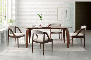 Thumbnail of Zuo Modern Contemporary - Jefferson Dining Chair Beige