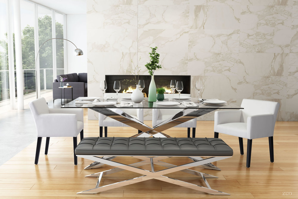 ZUO MODERN CONTEMPORARY, INC - Franklin Dining Chair White