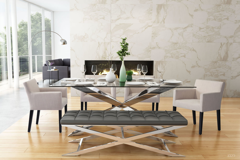 ZUO MODERN CONTEMPORARY, INC - Franklin Dining Chair Beige
