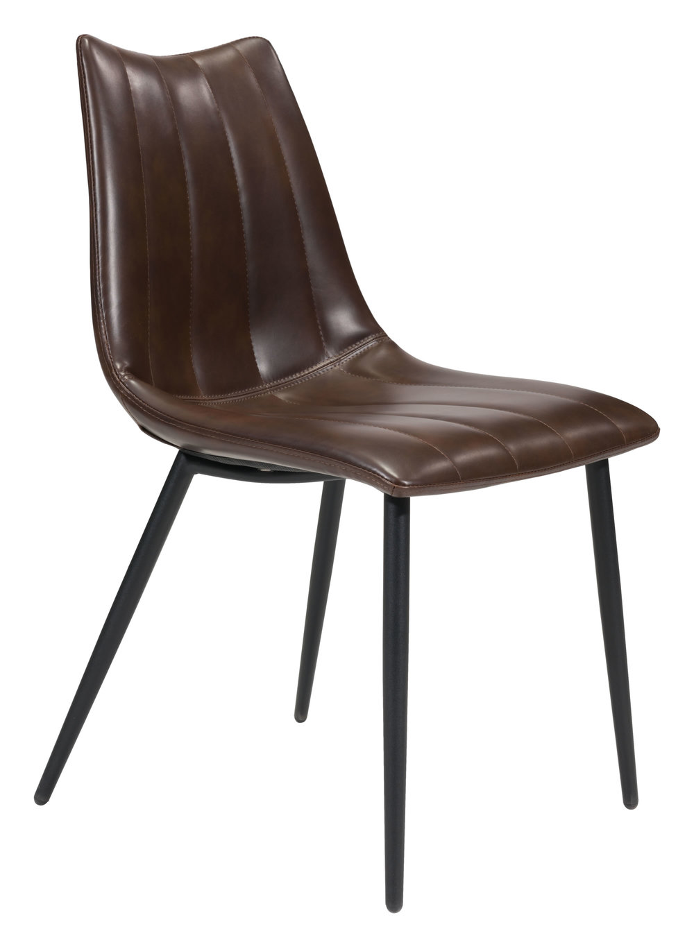 ZUO MODERN CONTEMPORARY, INC - Norwich Dining Chair - Set of 2 - Brown