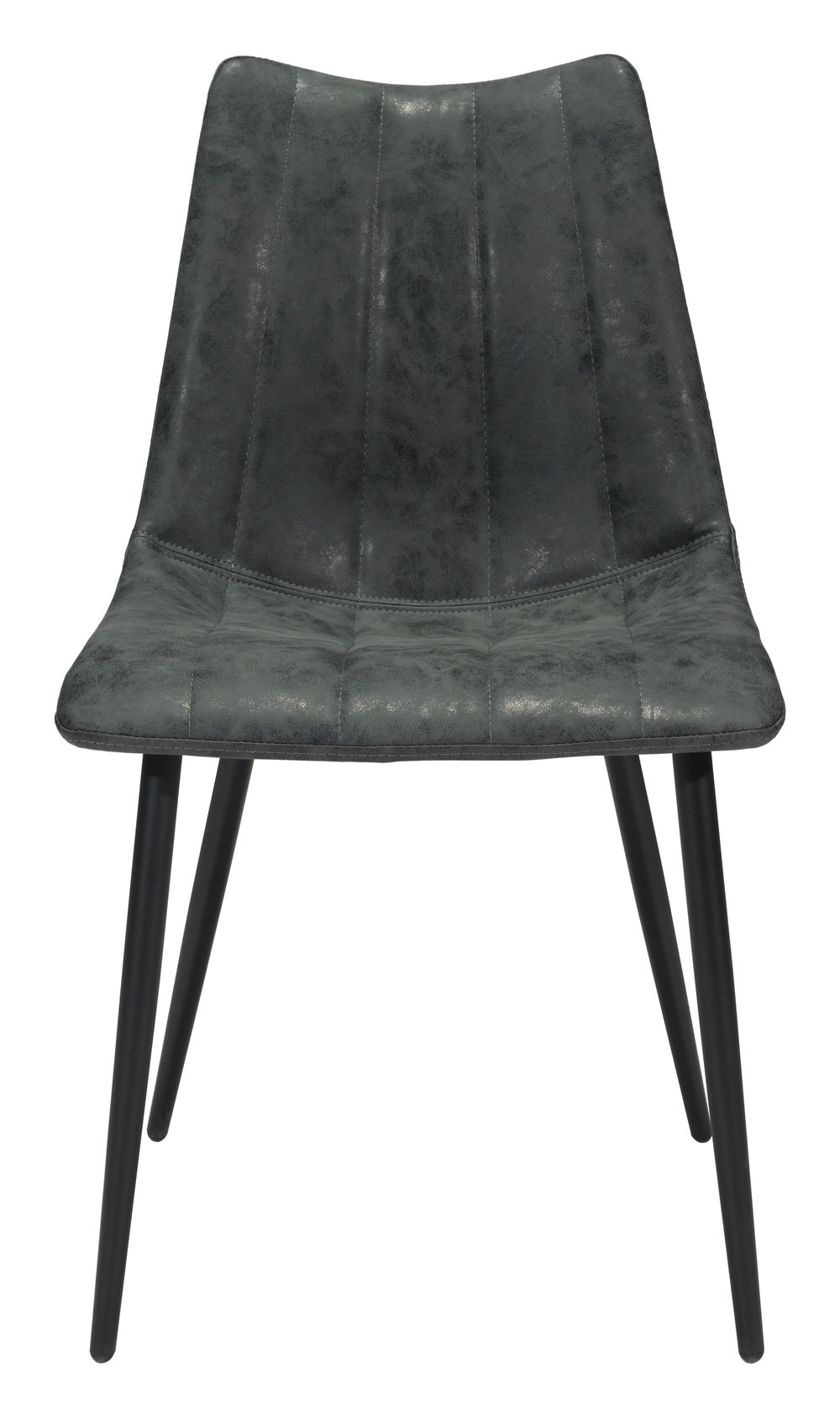 Zuo Modern Contemporary - Norwich Dining Chair - Set of 2 - Vintage Black