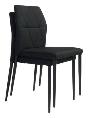 Thumbnail of Zuo Modern Contemporary - Revolution Dining Chair - Set of 4 - Black