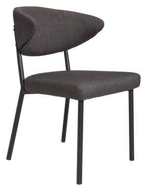 Thumbnail of Zuo Modern Contemporary - Pontus Dining Chair - Set of 2 - Charcoal Gray