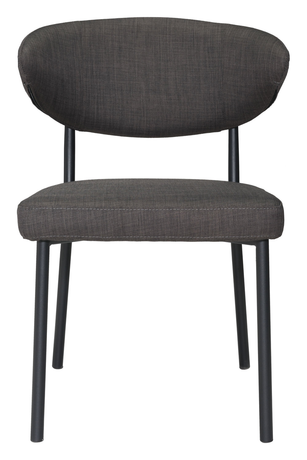 Zuo Modern Contemporary - Pontus Dining Chair - Set of 2 - Charcoal Gray