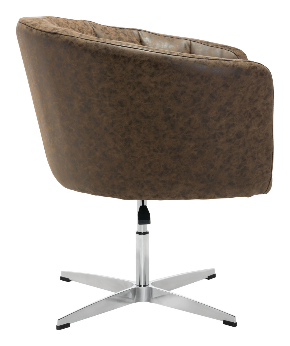 Zuo Modern Contemporary - Wilshire Occasional Chair Vintage Coffee