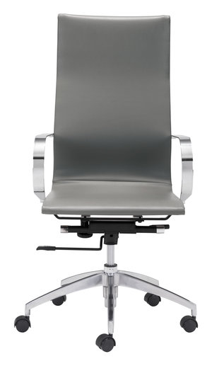 Thumbnail of Zuo Modern Contemporary - Glider High Back Office Chair Gray