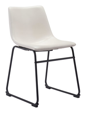 Thumbnail of Zuo Modern Contemporary - Smart Dining Chair - Set of 2 - Distressed White