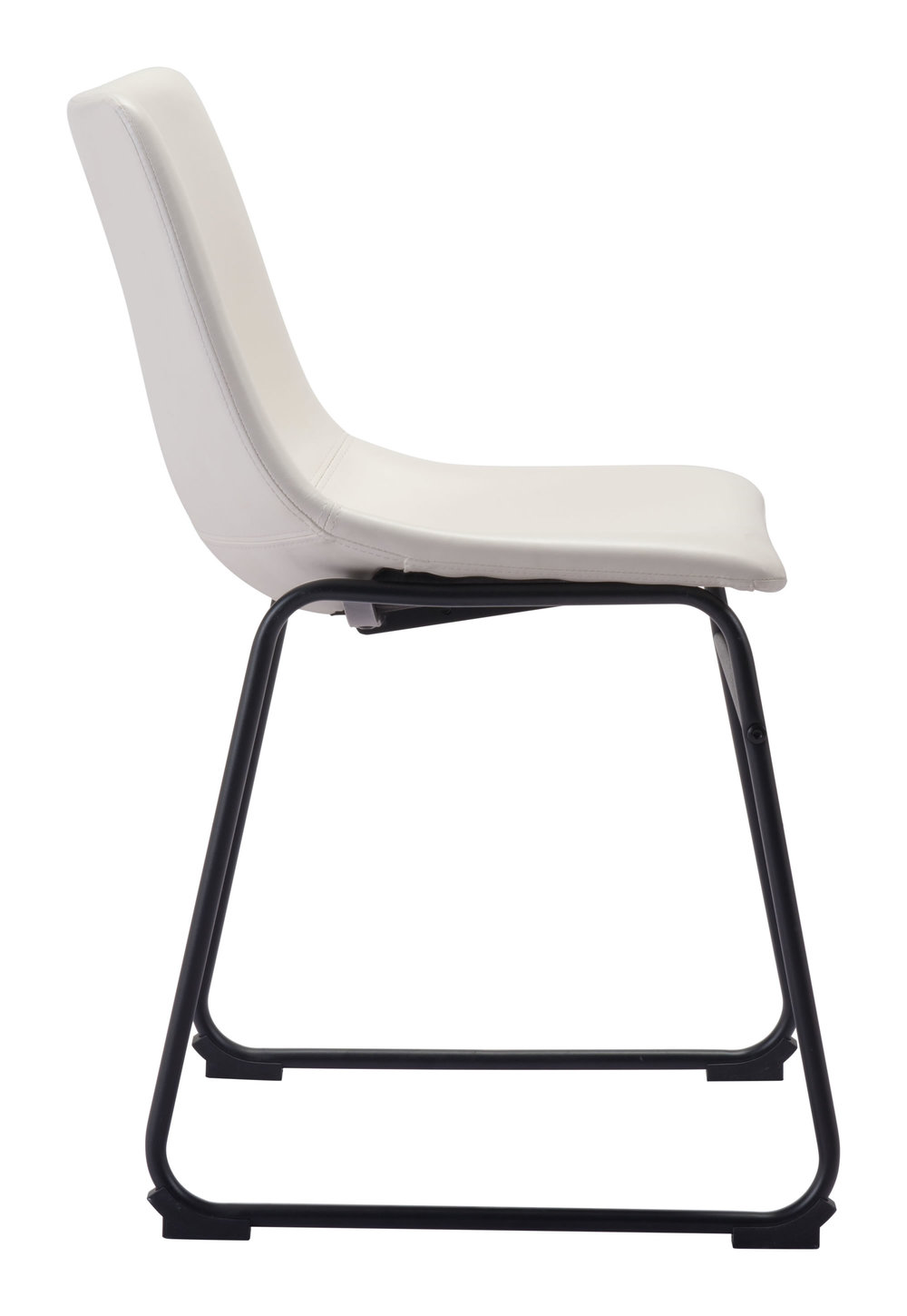 Zuo Modern Contemporary - Smart Dining Chair - Set of 2 - Distressed White