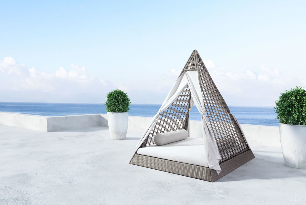 Zuo Modern Contemporary - Albany Daybed Gray & Light Gray