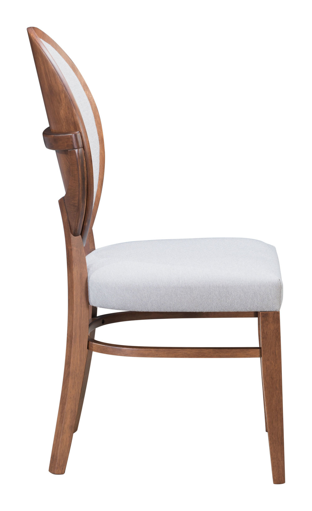 ZUO MODERN CONTEMPORARY, INC - Regents Dining Chair - Set of 2 - Walnut & Gray