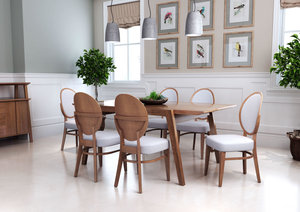 Thumbnail of ZUO MODERN CONTEMPORARY, INC - Regents Dining Chair - Set of 2 - Walnut & Gray