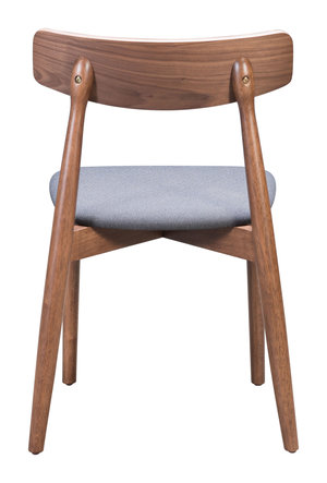 Thumbnail of ZUO MODERN CONTEMPORARY, INC - Newman Dining Chair - Set of 2 - Walnut & Gray