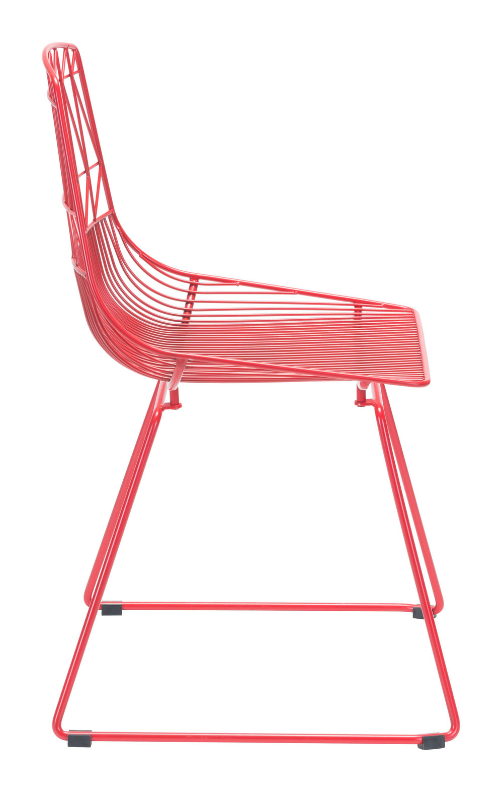 Zuo Modern Contemporary - Brody Dining Chair - Set of 2 - Red