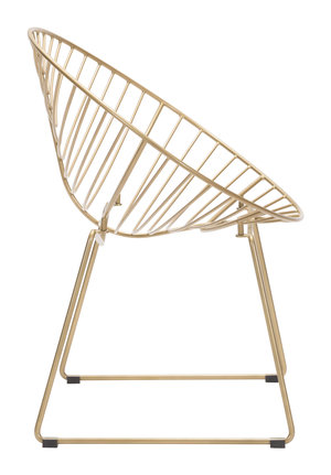 Thumbnail of Zuo Modern Contemporary - Hyde Lounge Chair, Set/2, Gold