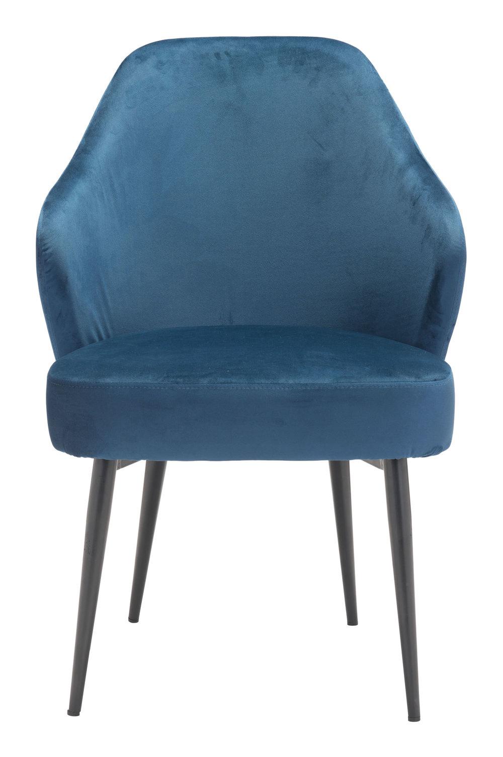 Zuo Modern Contemporary - Savon Dining Chair Navy