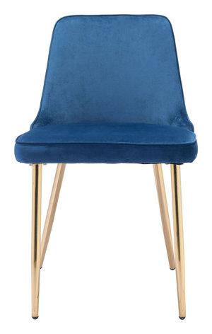 Thumbnail of Zuo Modern Contemporary - Merritt Dining Chair - Set of 2 - Navy