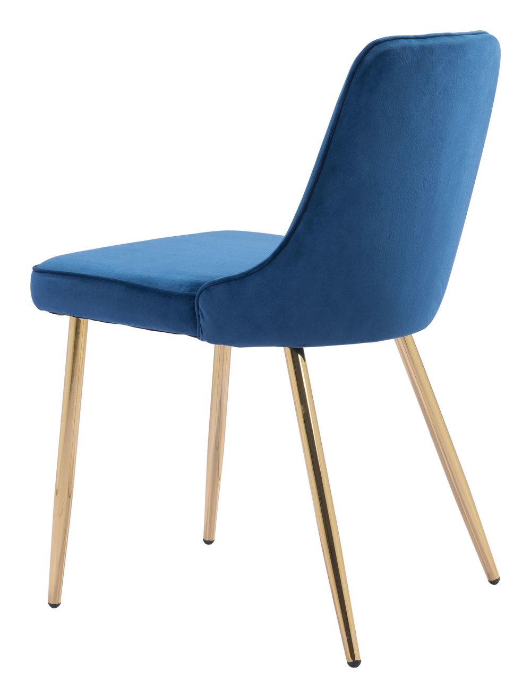 Zuo Modern Contemporary - Merritt Dining Chair - Set of 2 - Navy