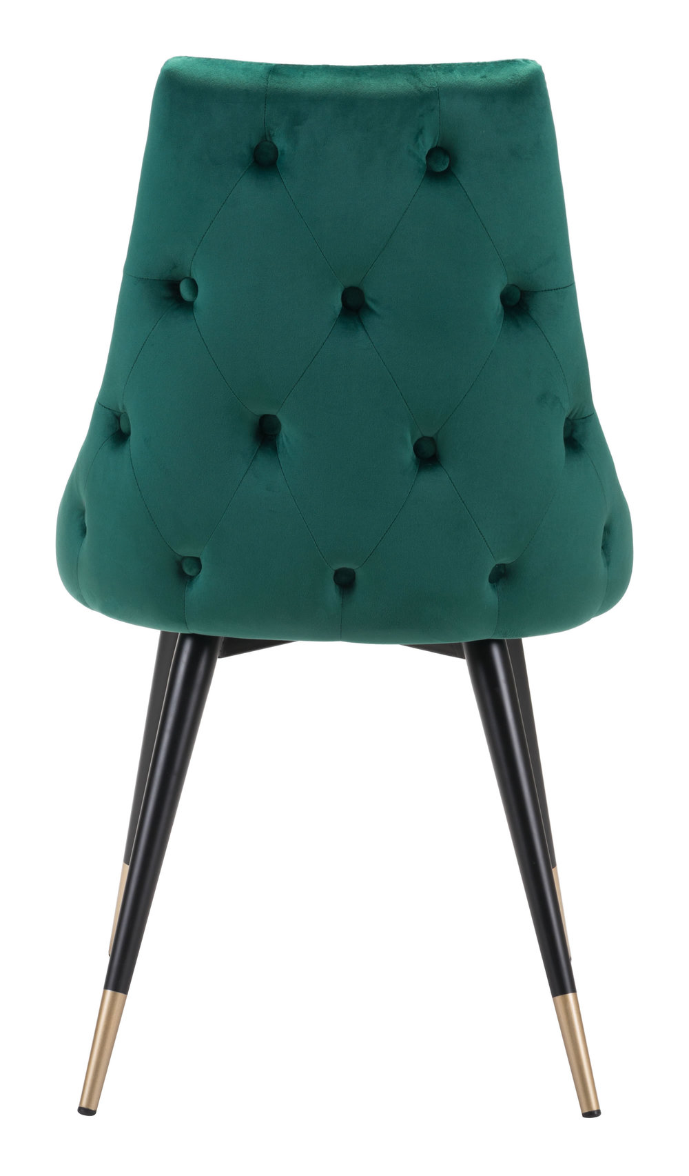 ZUO MODERN CONTEMPORARY, INC - Piccolo Dining Chair - Set of 2 - Green