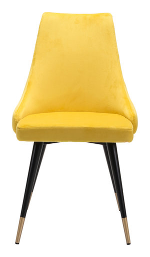 Thumbnail of Zuo Modern Contemporary - Piccolo Dining Chair - Set of 2 - Yellow