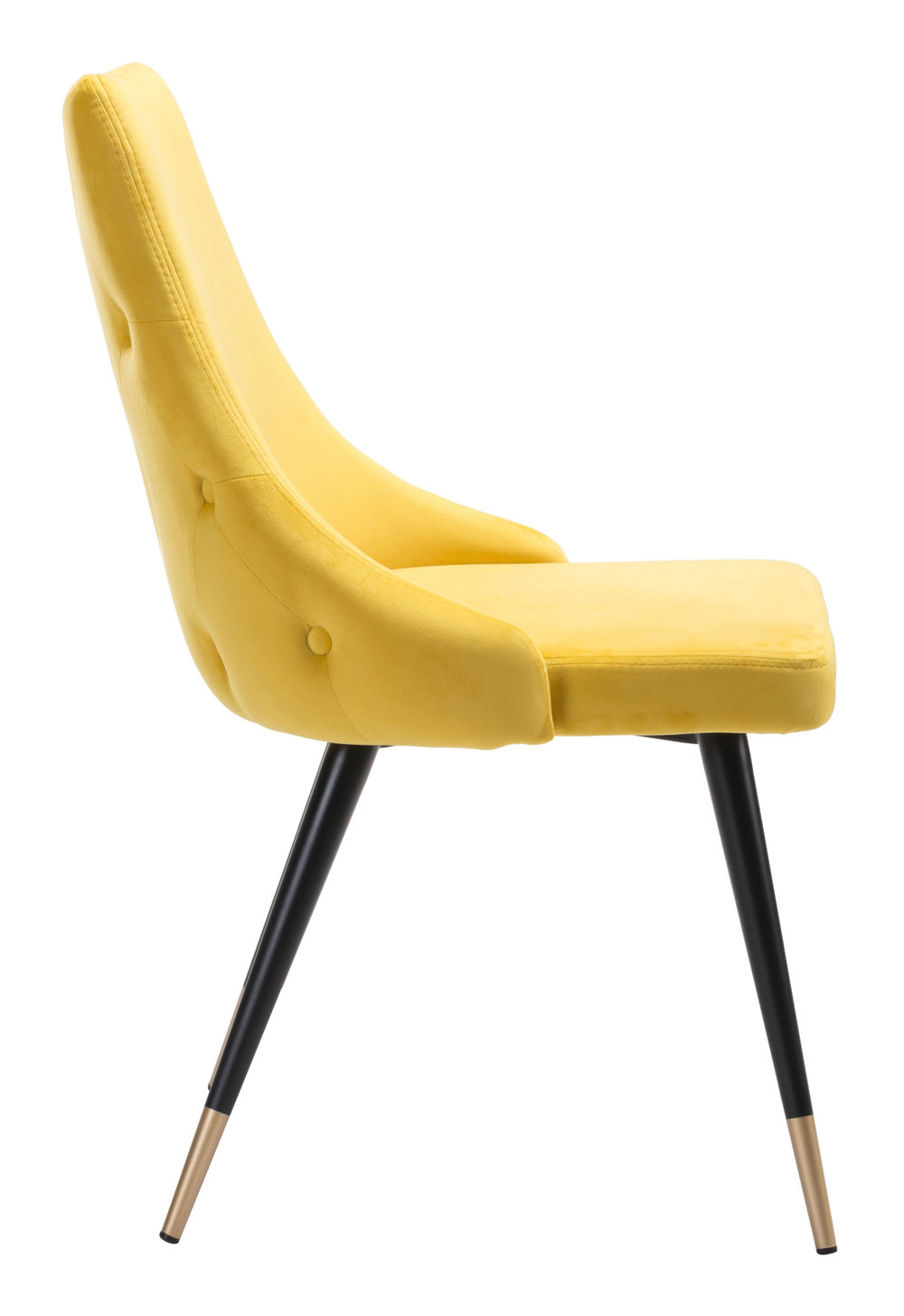 Zuo Modern Contemporary - Piccolo Dining Chair - Set of 2 - Yellow