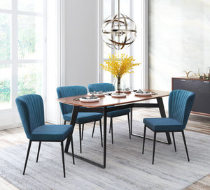 Thumbnail of ZUO MODERN CONTEMPORARY, INC - Tolivere Dining Chair - Set of 2 - Blue