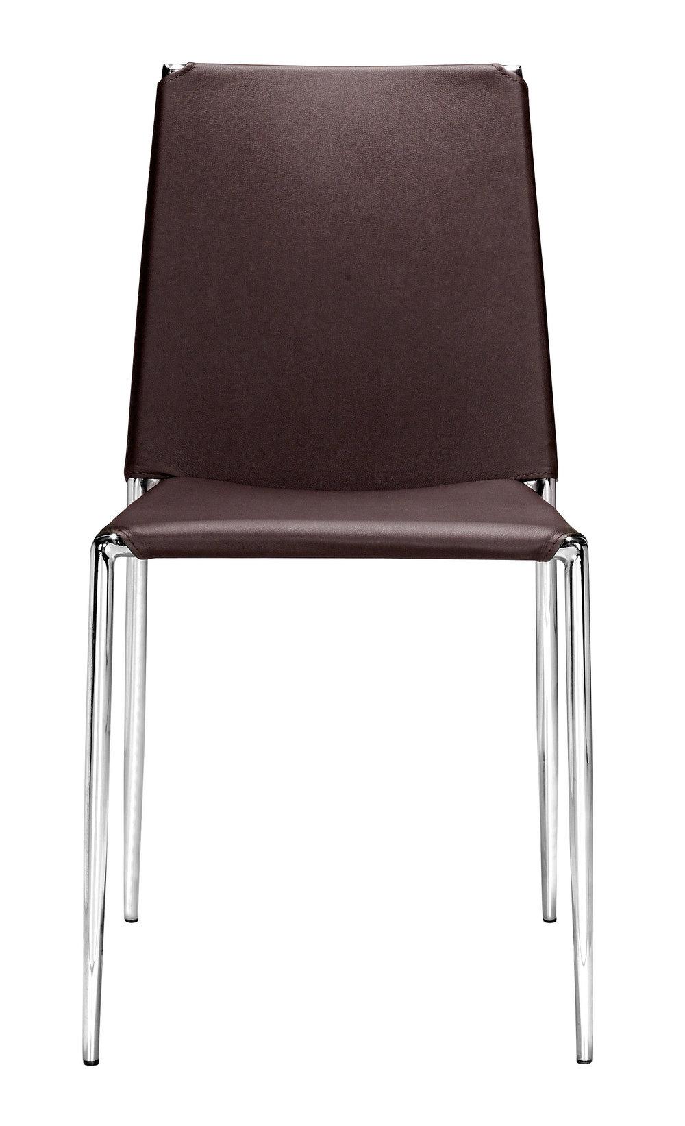 Zuo Modern Contemporary - Alex Dining Chair - Set of 4 - Espresso