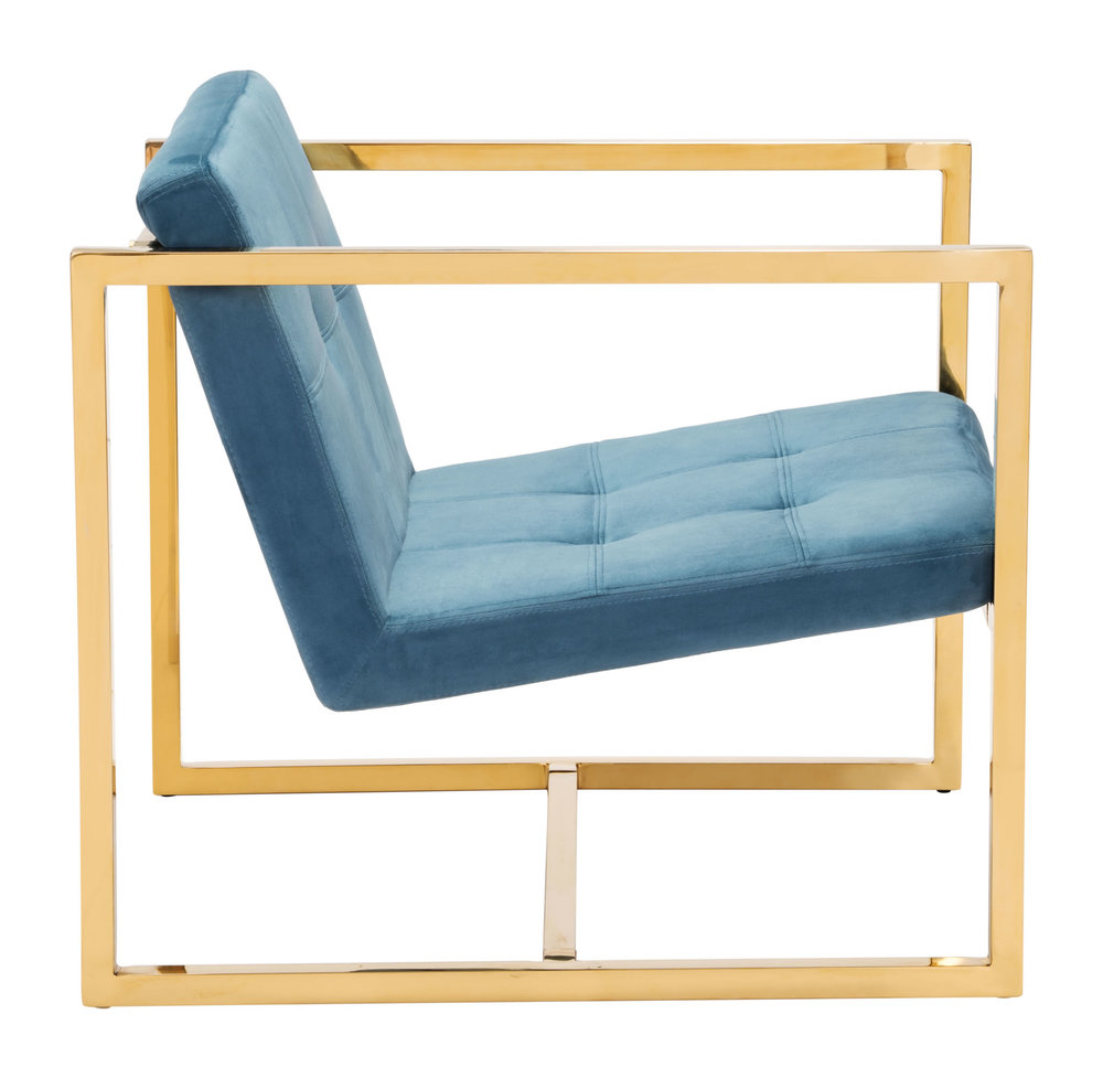 Zuo Modern Contemporary - Alt Arm Chair Blue