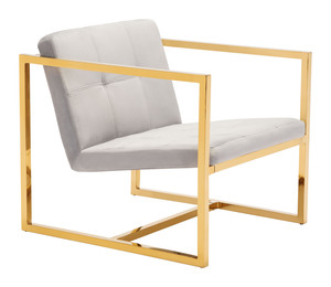 Thumbnail of Zuo Modern Contemporary - Alt Arm Chair Gray