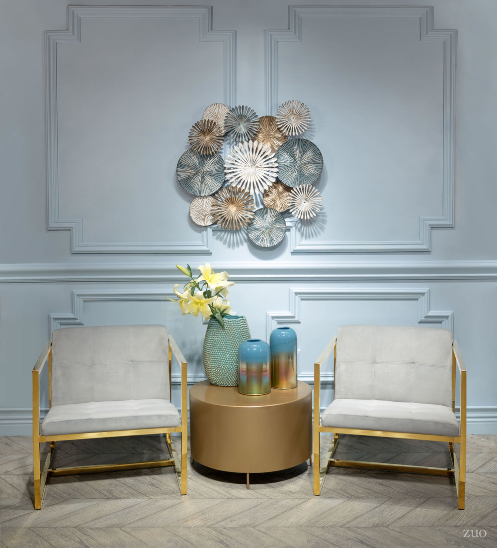 Zuo Modern Contemporary - Alt Arm Chair Gray