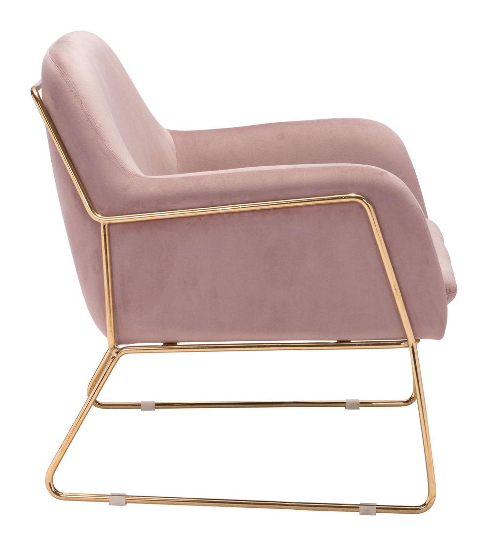 ZUO MODERN CONTEMPORARY, INC - Nadir Arm Chair Pink