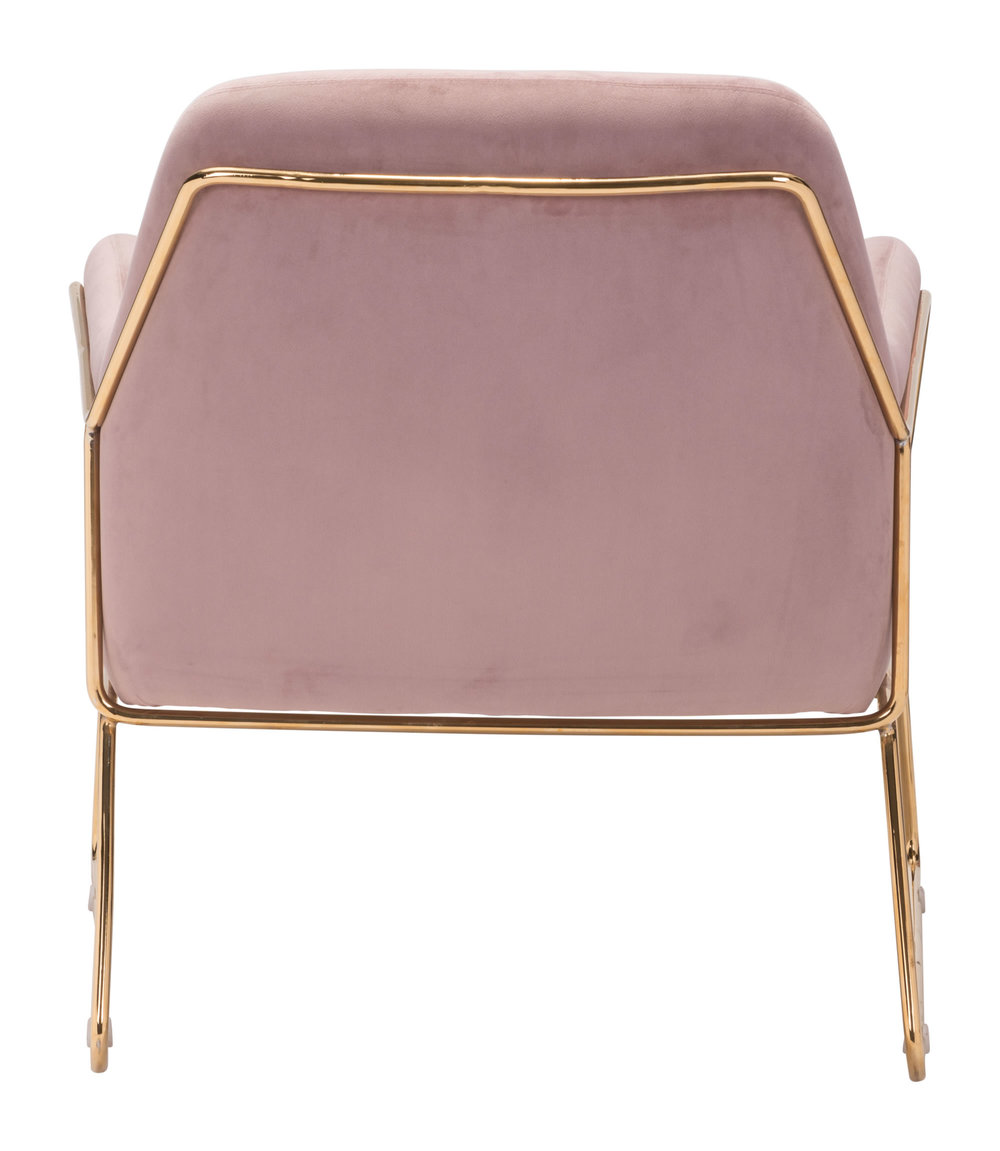 Zuo Modern Contemporary - Nadir Arm Chair Pink