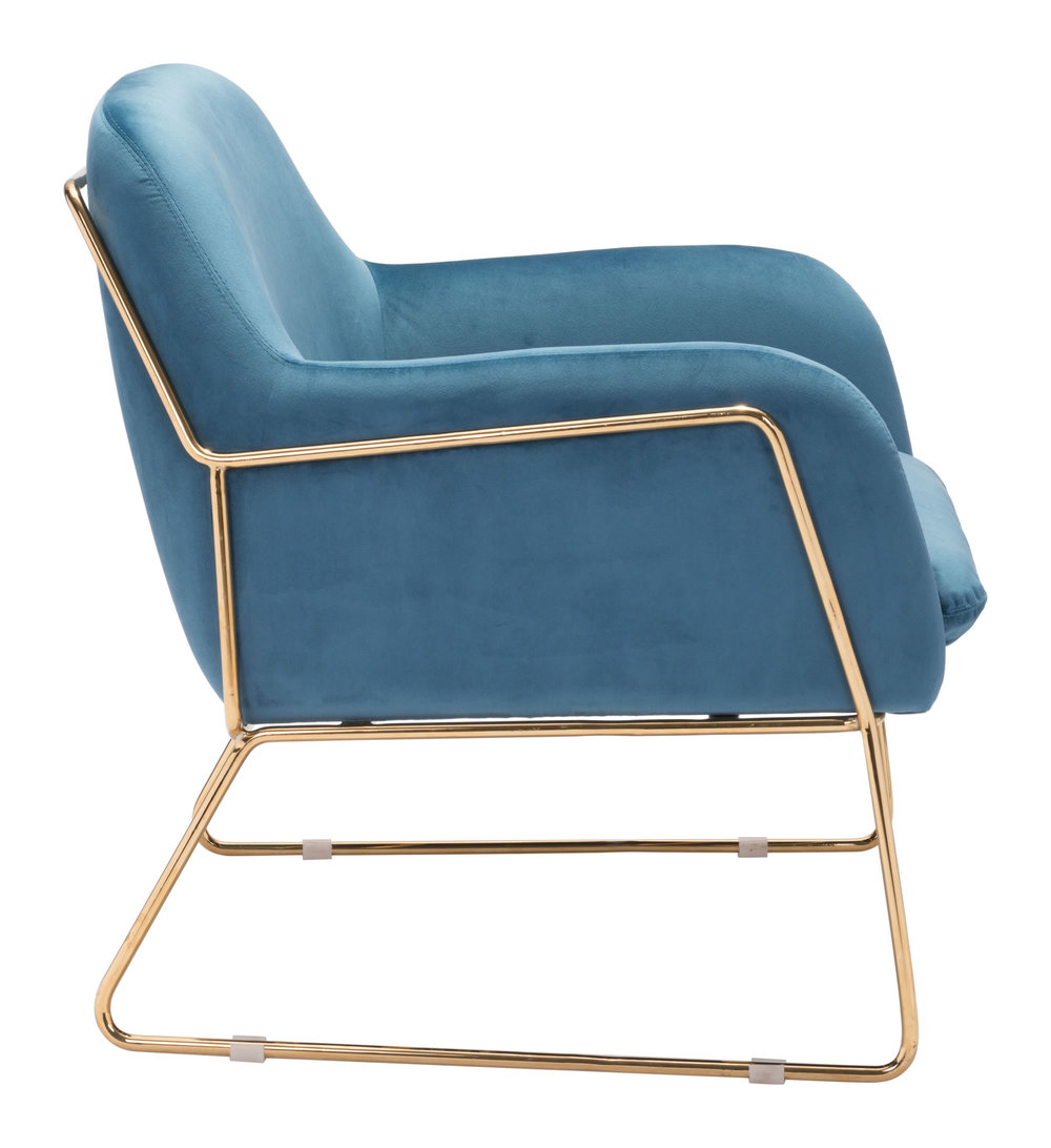 ZUO MODERN CONTEMPORARY, INC - Nadir Arm Chair Blue