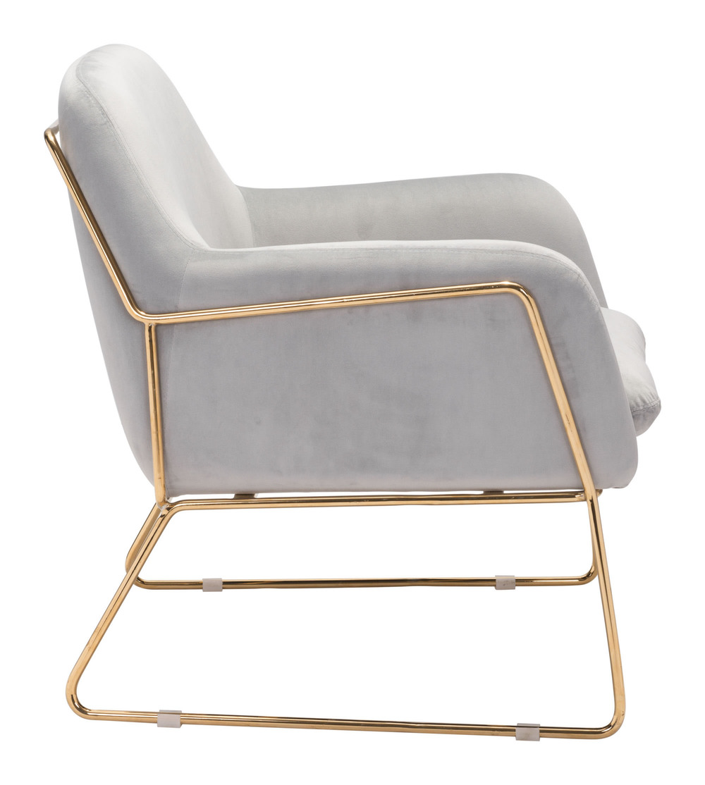Zuo Modern Contemporary - Nadir Arm Chair Gray
