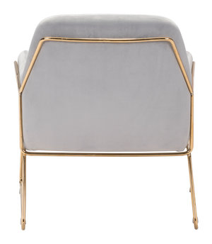 Thumbnail of Zuo Modern Contemporary - Nadir Arm Chair Gray
