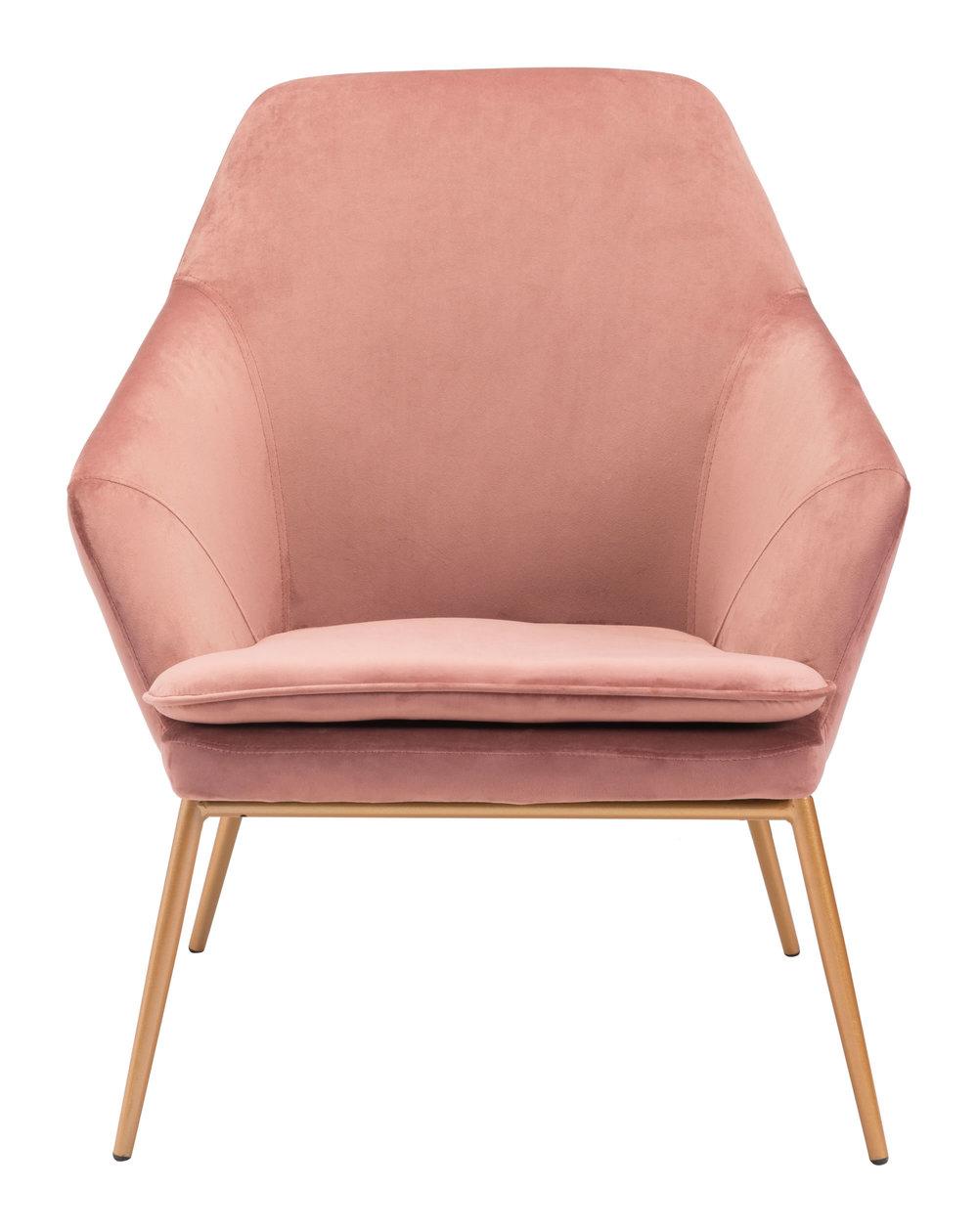 ZUO MODERN CONTEMPORARY, INC - Debonair Arm Chair Pink