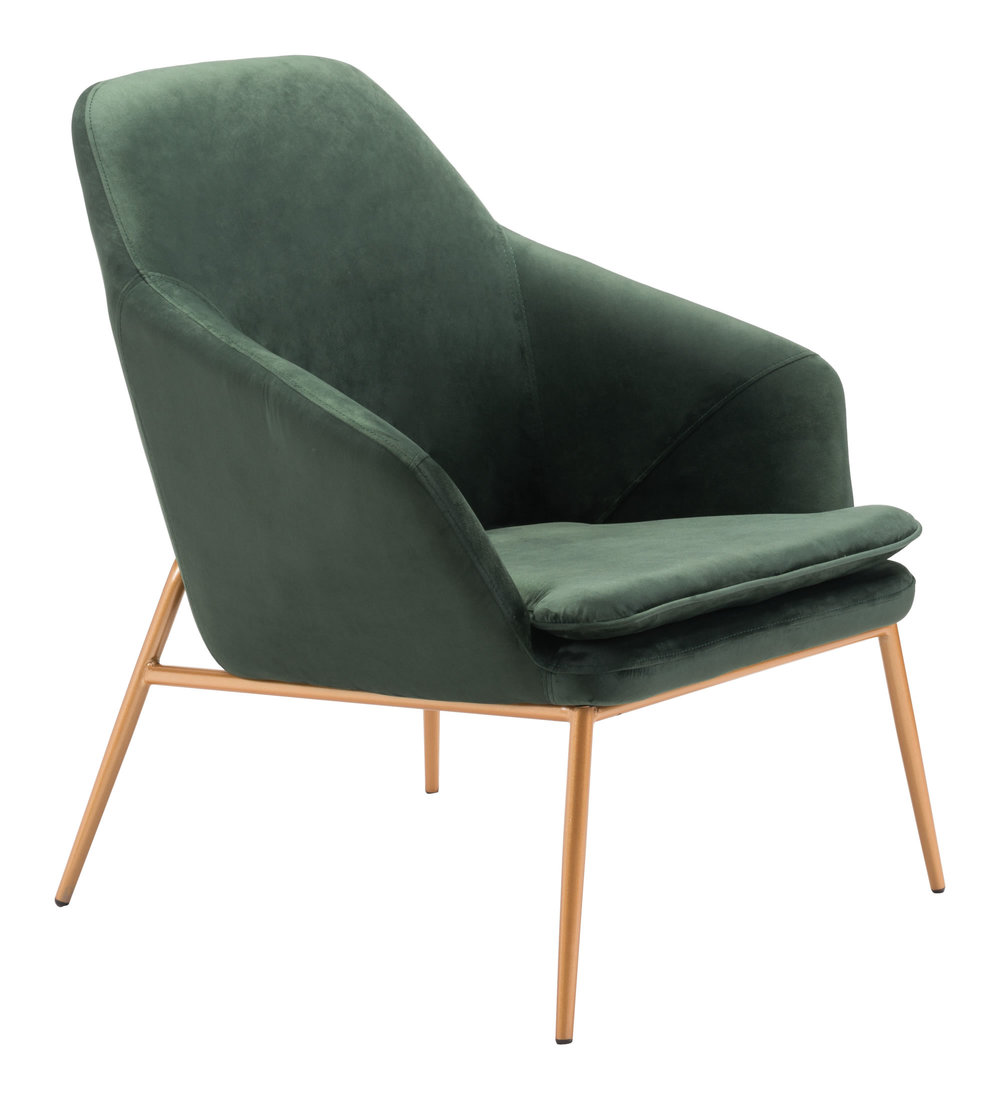 Zuo Modern Contemporary - Debonair Arm Chair Green