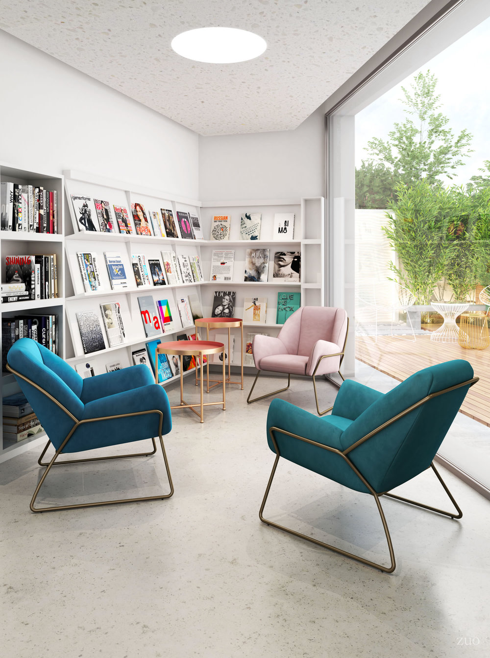 Zuo Modern Contemporary - Stanza Arm Chair Pink