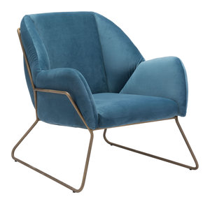 Thumbnail of Zuo Modern Contemporary - Stanza Arm Chair Blue