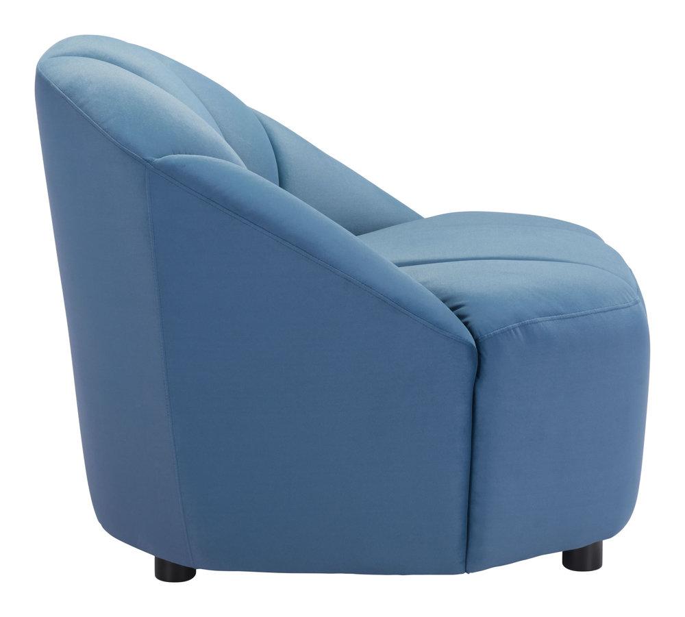 ZUO MODERN CONTEMPORARY, INC - Paramount Accent Chair Dark Blue