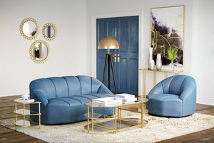 Thumbnail of ZUO MODERN CONTEMPORARY, INC - Paramount Accent Chair Dark Blue