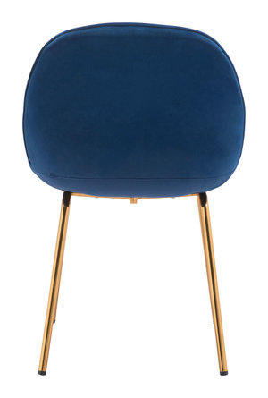 Thumbnail of Zuo Modern Contemporary - Siena Dining Chair - Set of 2 - Dark Blue