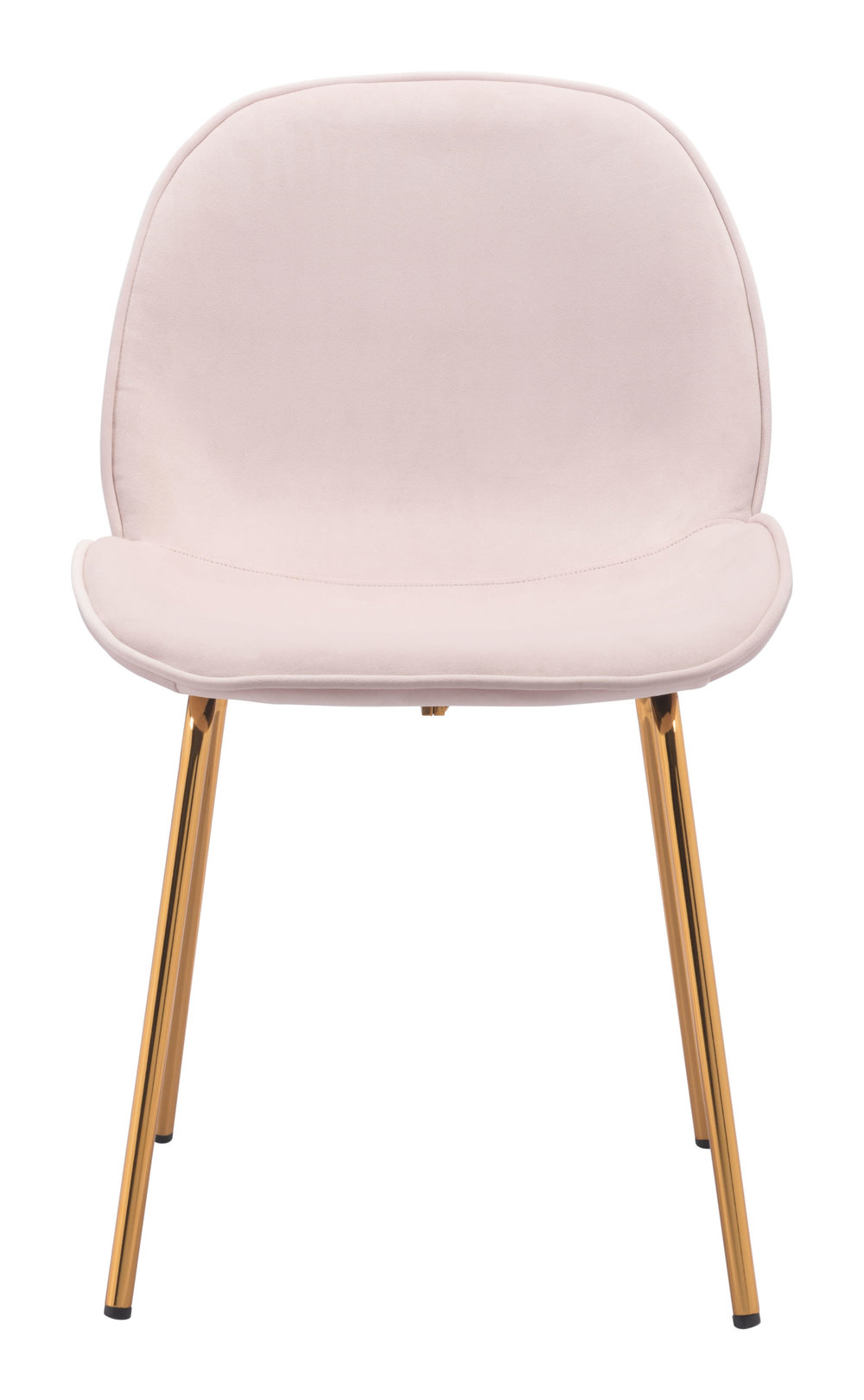 Zuo Modern Contemporary - Siena Dining Chair - Set of 2 - Rose Pink