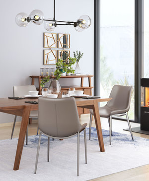 Thumbnail of Zuo Modern Contemporary - Magnus Dining Chair - Set of 2 - Gray & Silver