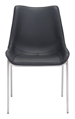 Thumbnail of Zuo Modern Contemporary - Magnus Dining Chair - Set of 2 - Black & Silver