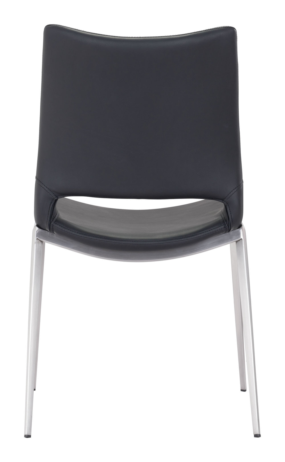 Zuo Modern Contemporary - Ace Dining Chair - Set of 2 - Black & Silver